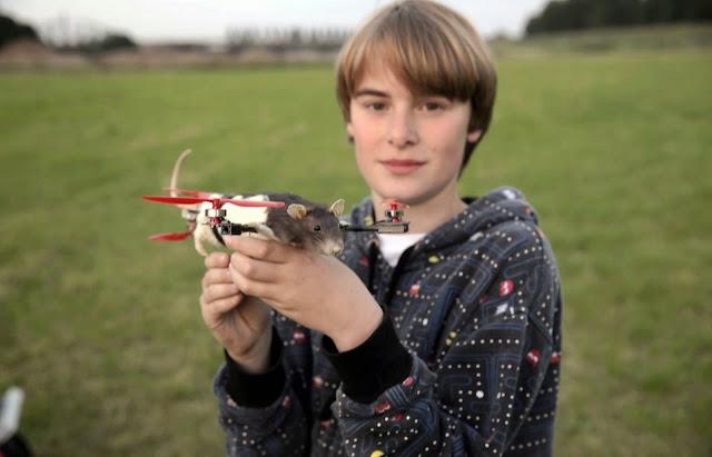 Μαθητής ζήτησε να κάνουν το νεκρό κατοικίδιο του ιπτάμενο drone