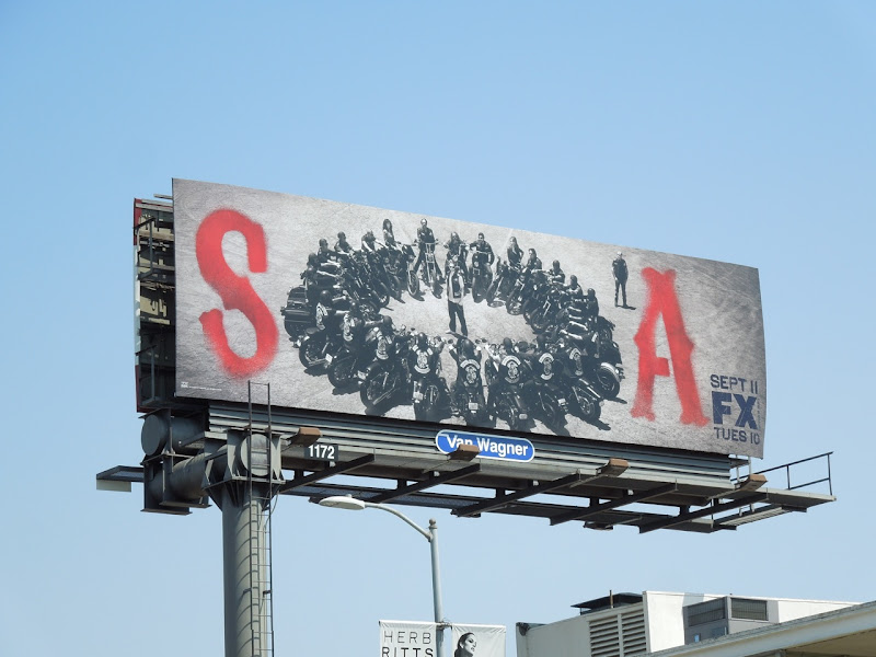Sons of Anarchy 5 billboard