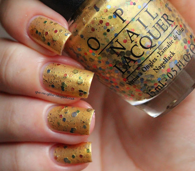 OPI - pineapples have peelings too!
