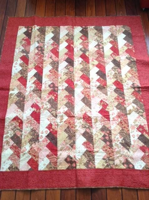 Quilt avonturen affo 39 s for Quilt maken met naaimachine