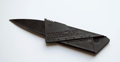 The World's Coolest Knife ! FREE Credit Card Knife Offer. Fits in Wallet !