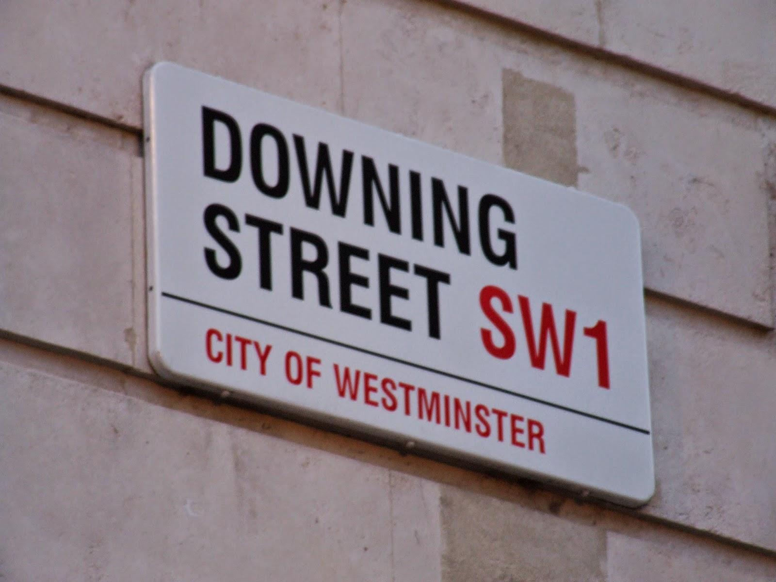 Downing Street.