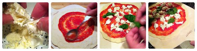 como hacer la pizza margarita