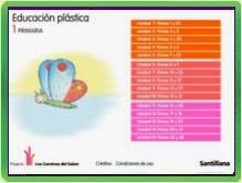 LIBRO DIGITAL DE PLÁSTICA 1º SANTILLANA