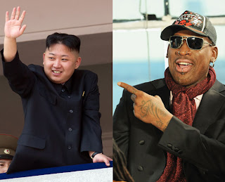 Kim Jong Il and Dennis Rodman North Korea deplomacy insanity