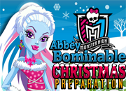 Abbey Bominable Christmas Preparation