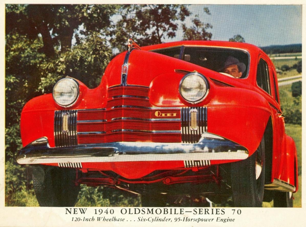 Transpress nz 1940 oldsmobile sedans for 1940 oldsmobile 4 door sedan