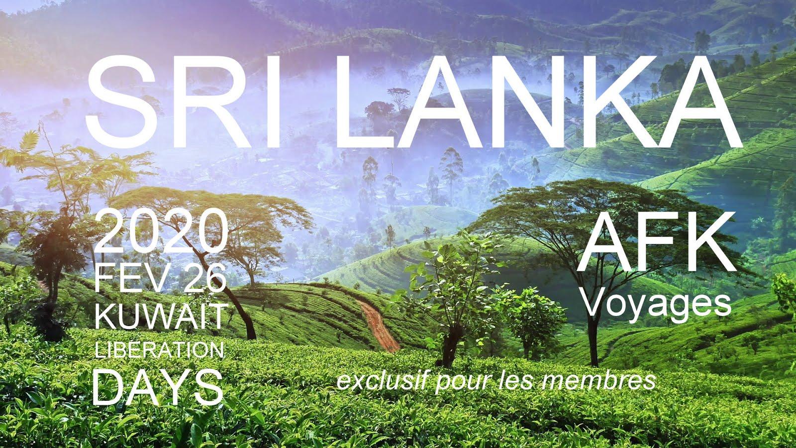 SRI LANKA - Voyage découverte AFK