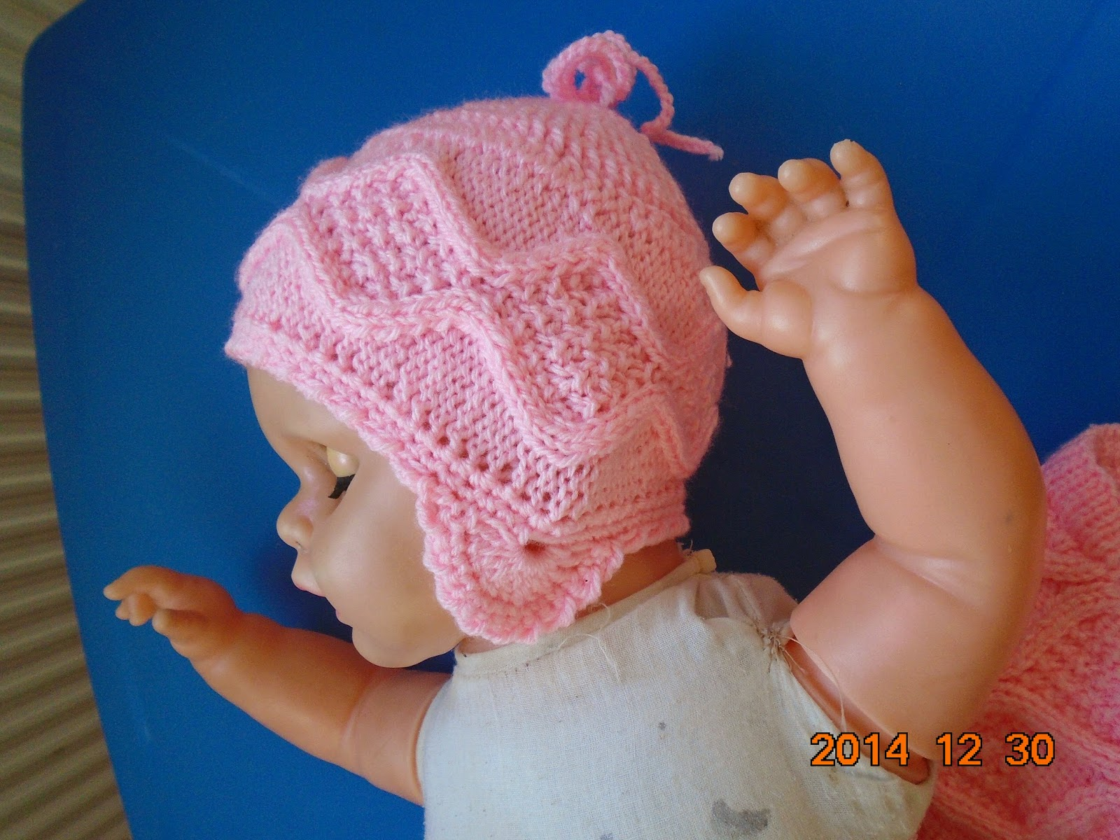 Horgolt és kötött baba sapkák gyűjteménye d106e615a7