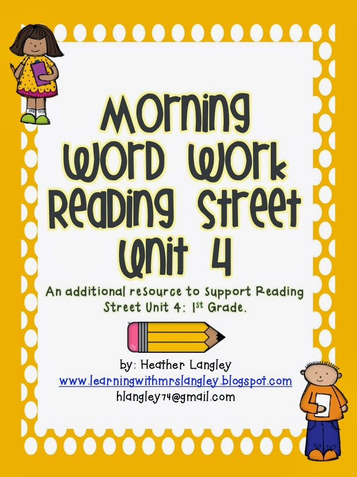 http://www.teacherspayteachers.com/Product/Reading-Street-Morning-Word-Work-Unit-4-FIRST-GRADE-1035089