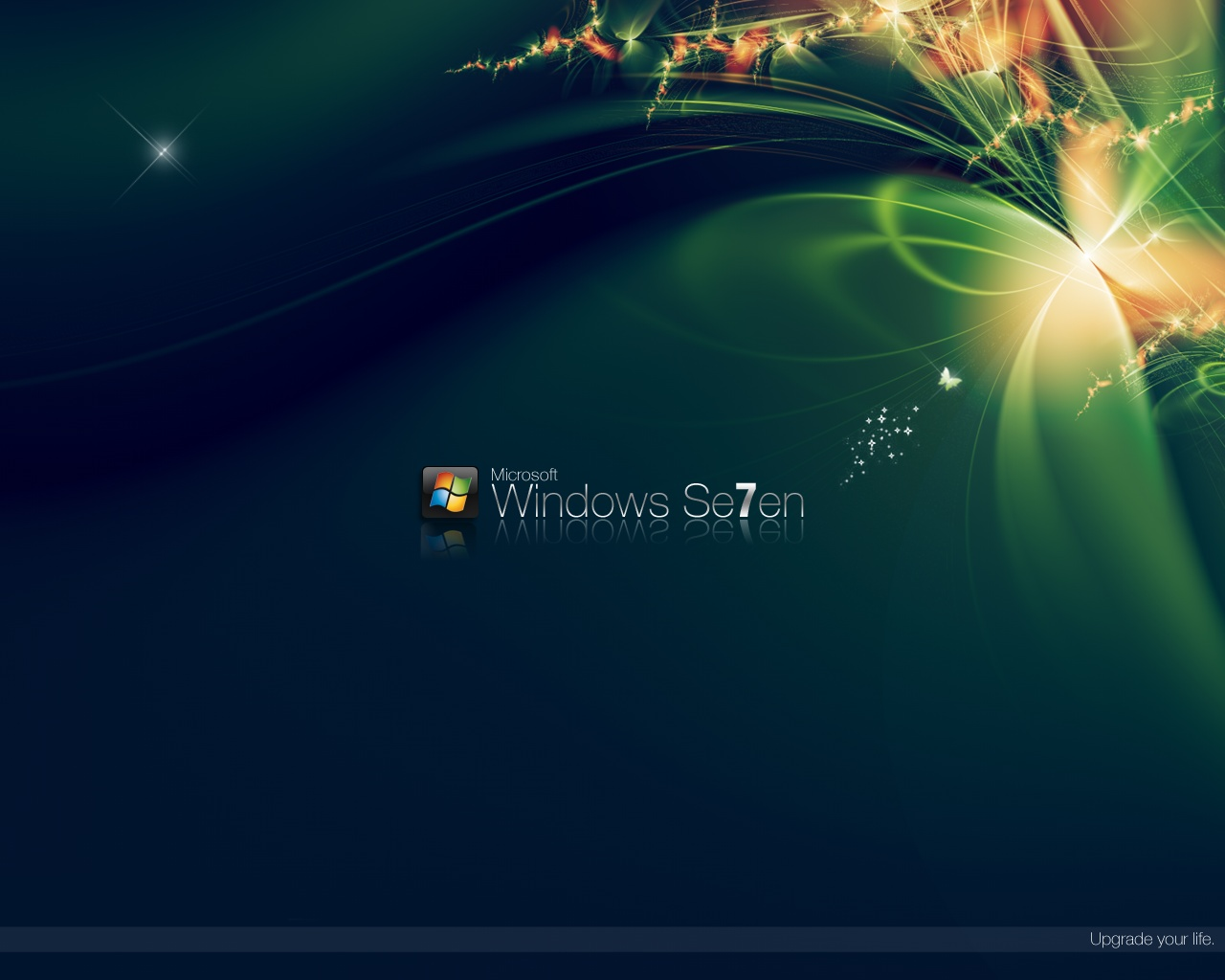 Green Windows 7 Wallpapers 11839 1280x1024