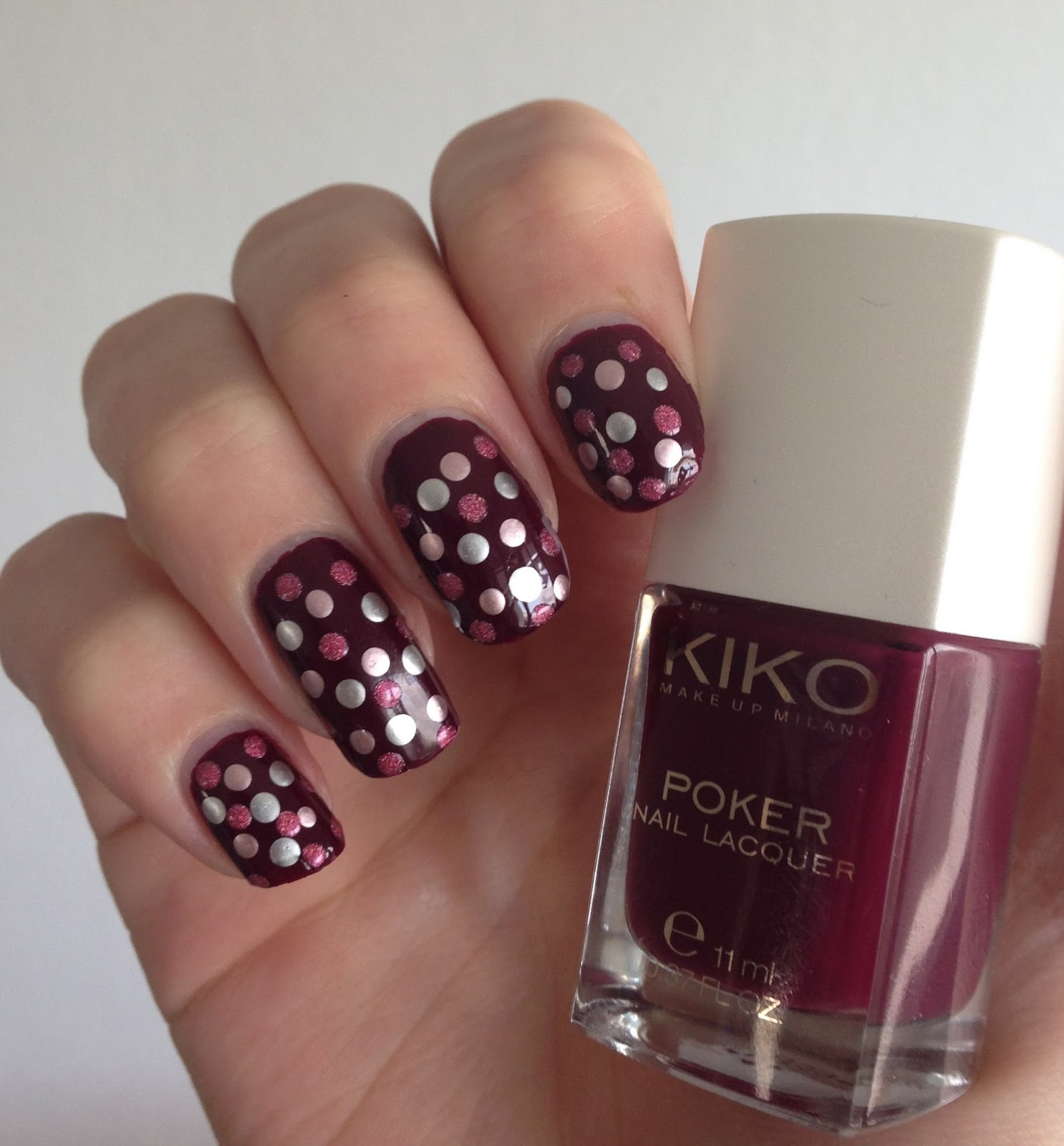 kiko nails 04 poker
