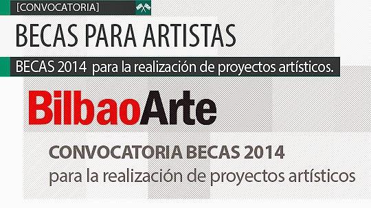 Becas para artistas 2014 para proyectos artísticos