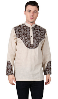Baju Koko Model Batik untuk Lebaran
