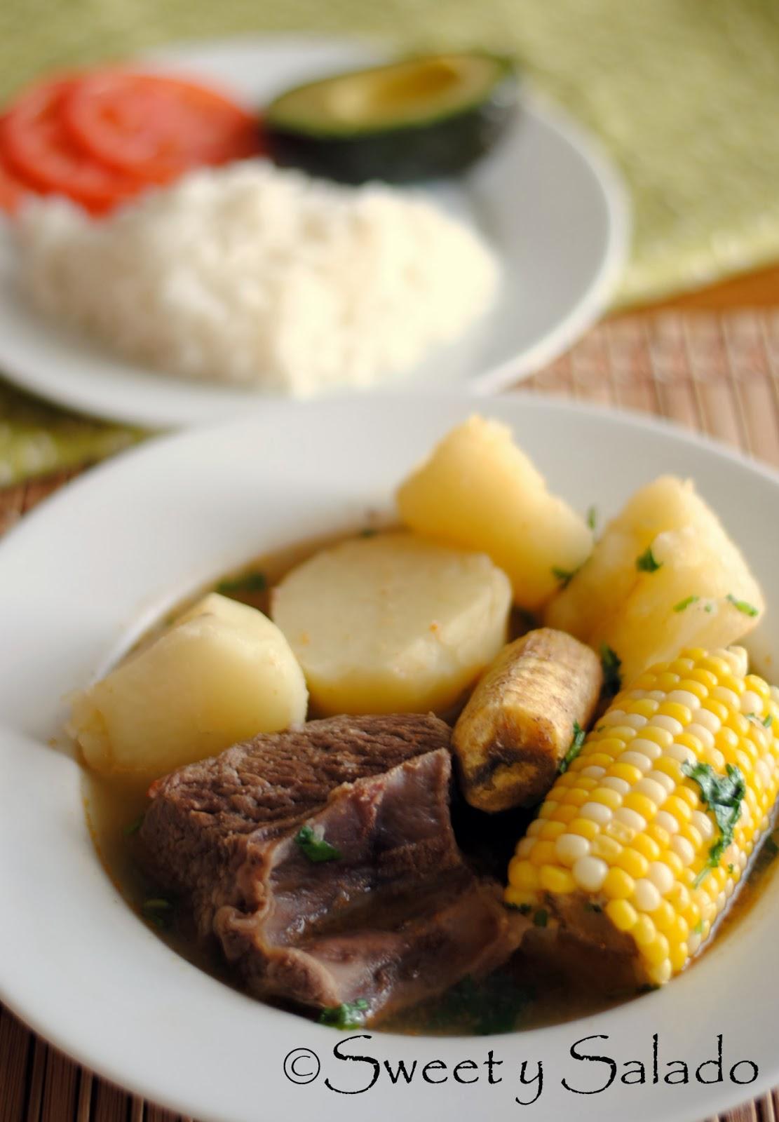 Sweet y Salado: Beef Short Rib Sancocho