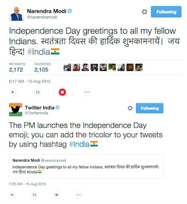 Twitter launches Indian flag emoji to mark India's Independence Day celebrations