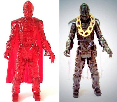 """Red Planet"" Edition & ""Run the Jewels"" Edition B.A. Baracus Space Ranger Resin Figures by Killer Bootlegs"
