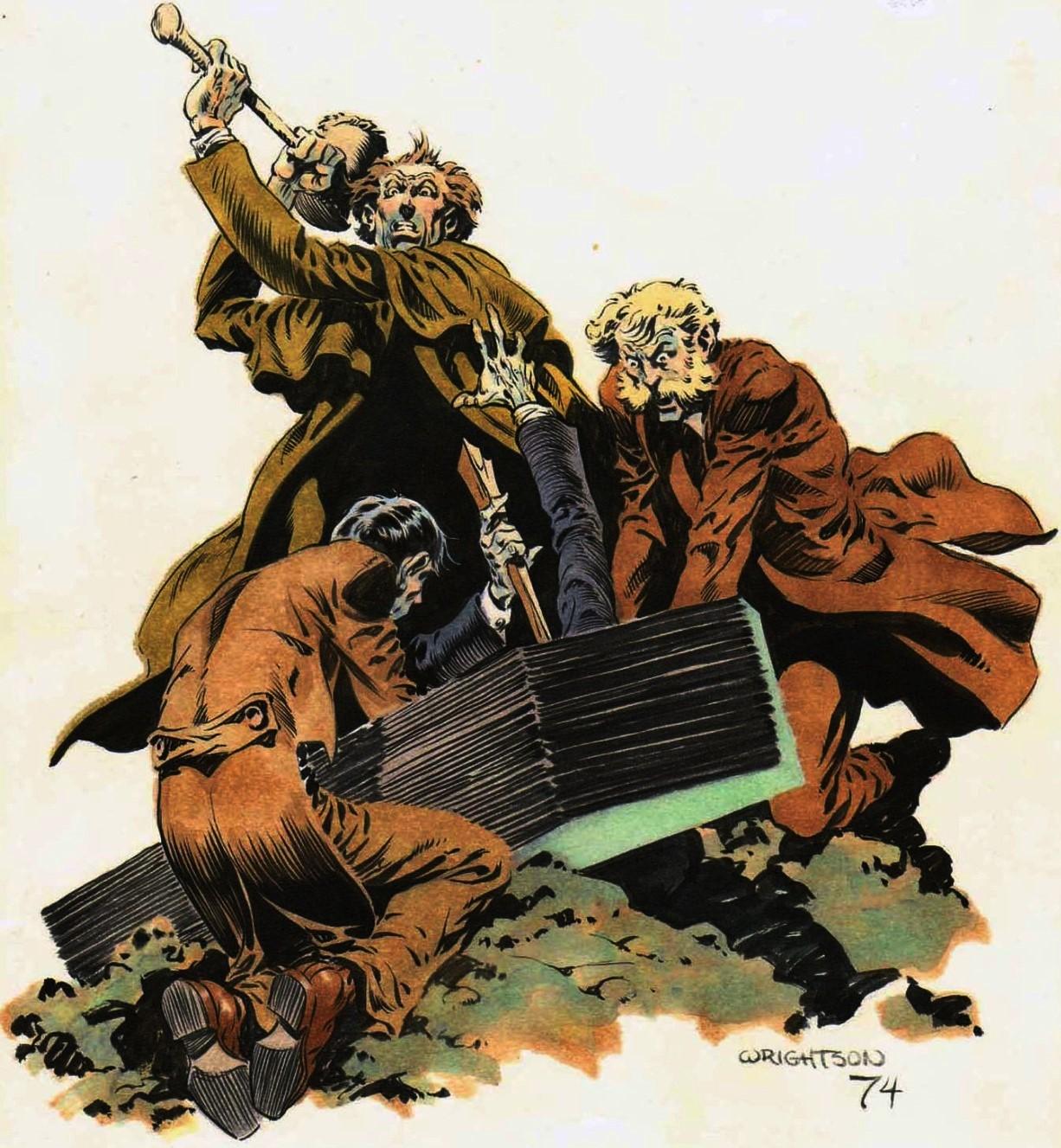 Cap\'n\'s Comics: Dead As A Doornail by Berni Wrightson