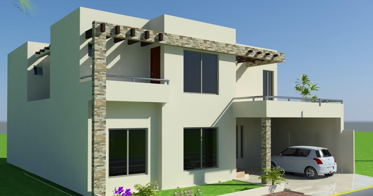 3D Front Elevation.com: 10 Marla House Design Mian Wali , Pakistan