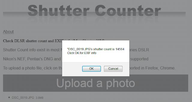 Cara Mudah Cek Shutter Count Kamera DSLR Terbaru