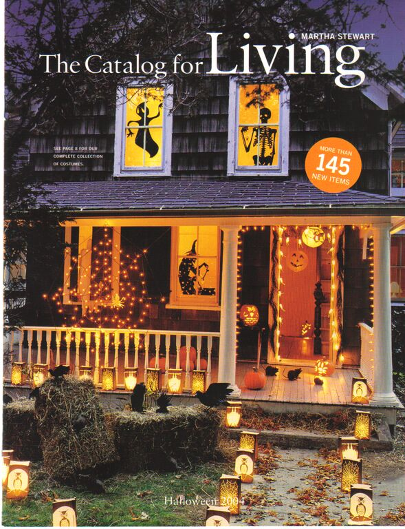 the halloween issues of martha by mail later becoming the catalog for living were eagerly anticipated by many of us every year the front covers provided