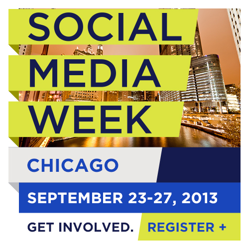 Social Media Week Chicago 2013 Logo
