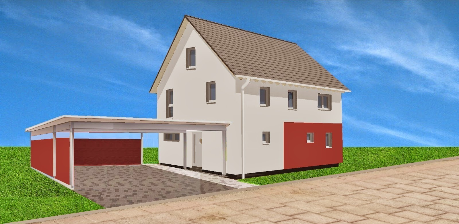 wir bauen ein okal haus ausschreibung f r carport schopf ist raus. Black Bedroom Furniture Sets. Home Design Ideas