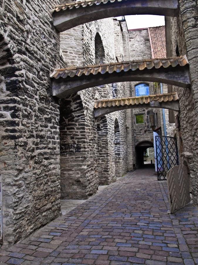 Старый Таллинн. Переулок Катарийны