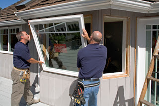 Front Range Lumber installation of Milgard Window
