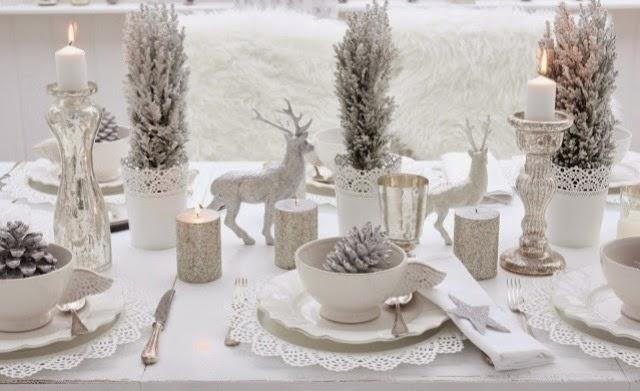 Ceia de Natal - mesa decoração