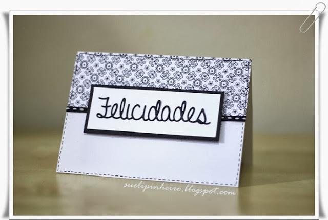 Tarjeta Clean Felicidades