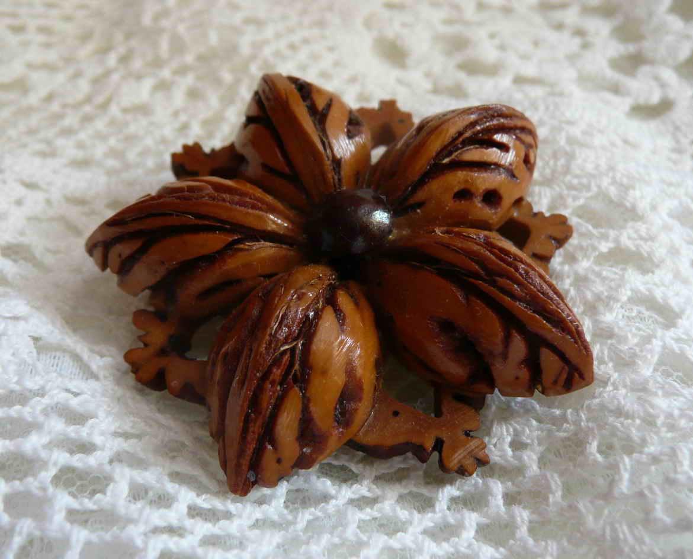 Поделки из абрикосовой косточки