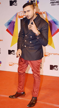 Honey Singh At MTV Video Music Awards