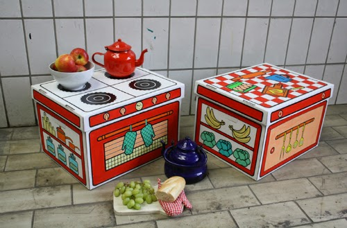 Σετ κουζίνας για ζωγραφική- από το Little Closet