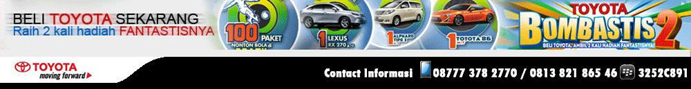 Dealer Resmi Toyota Serang Banten Rekomendasi Sales Adi 08777 378 2770  pin bb 3252C891