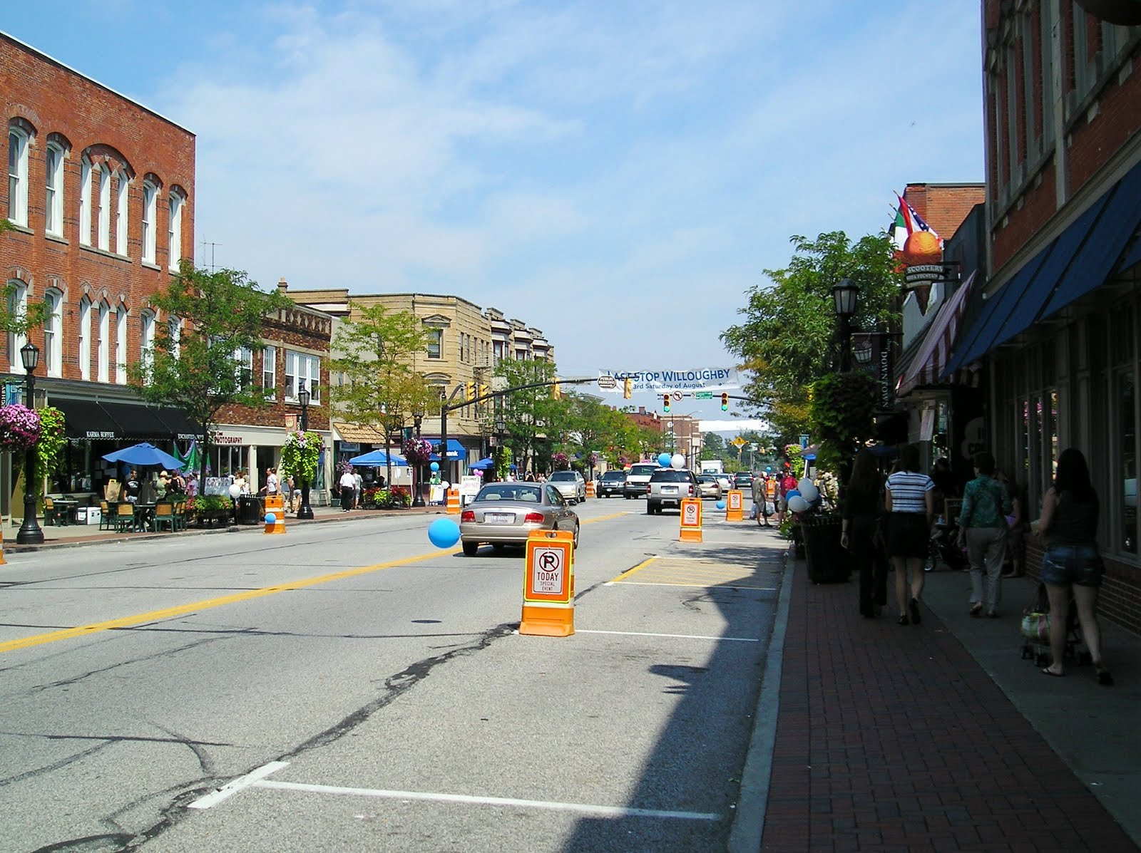 Restaurants Downtown Willoughby Ohio