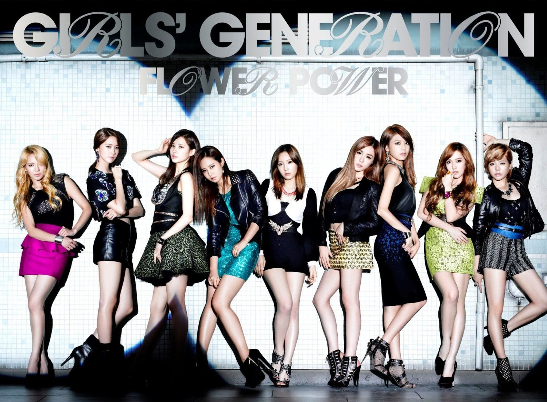 LIRIK LAGU: GIRLS GENERATION - FLOWER POWER