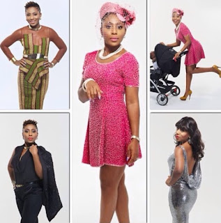 Dakore covers Mtherhood magazine
