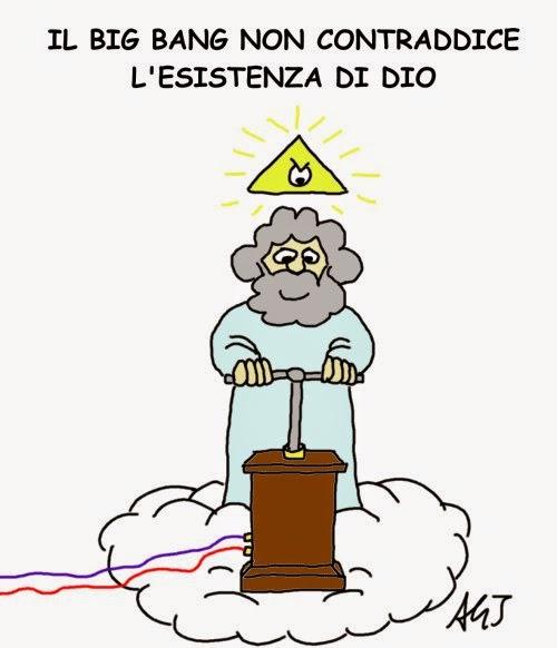 Big Bang, papa francesco, dio