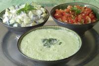 Sauce indienne à la coriandre sans lactose