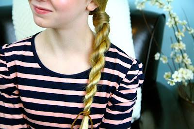 Hair-Wrapped Rope Braid | Easy Hairstyles
