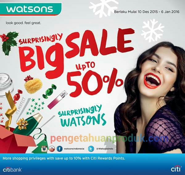 Katalog Watson Indonesia Januari 2016
