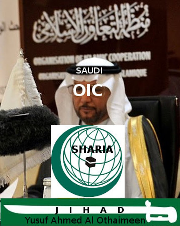 The islamofascist Saudi Fuhrer of the Saudi based OIC and its Human Rights violating sharia.