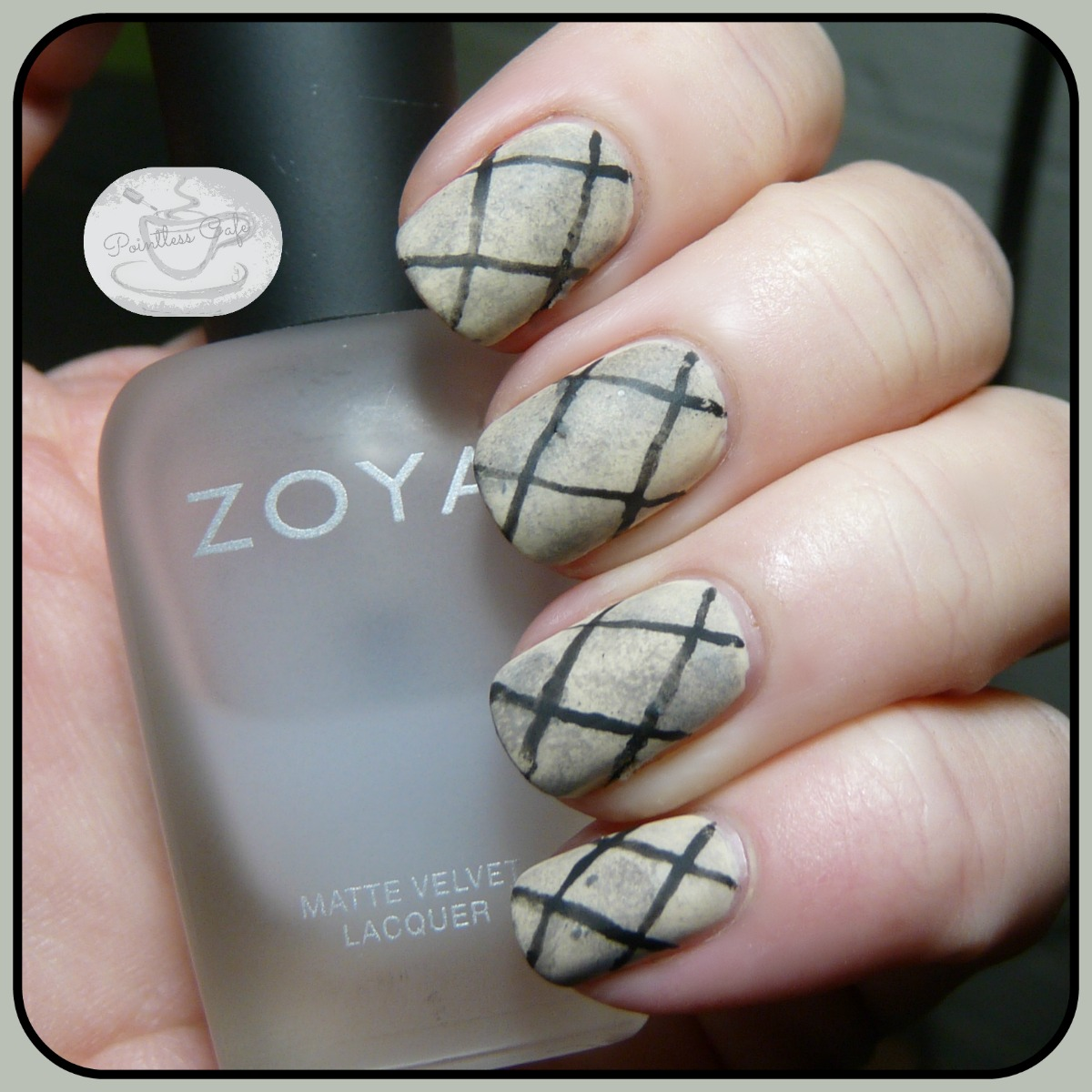 10 Blank Canvases Nail Art Ideas Criss Cross February 2017 Pointless Cafe