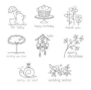 Stampin' Up! Easy Events Stamp Set Images
