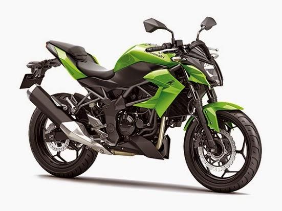 Specification Kawasaki Z250SL