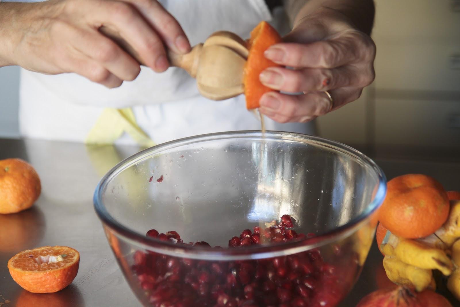 Postre de granada y mano de buda la cocina del huerto for Maduras en la cocina