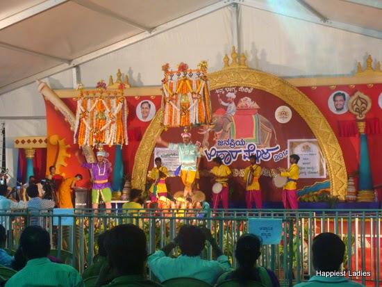 cultural performance ahara mela mysore