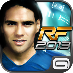 Real Football 2013 full apk data