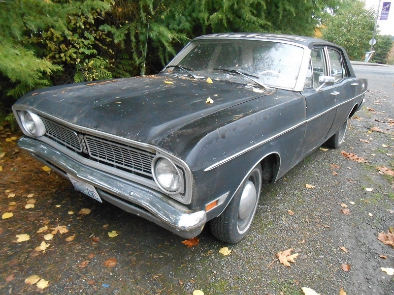 seattle 39 s parked cars 1968 ford falcon futura. Black Bedroom Furniture Sets. Home Design Ideas